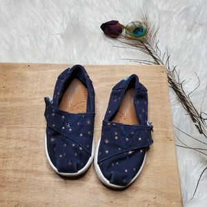 Toms Toddler Navy Shoes